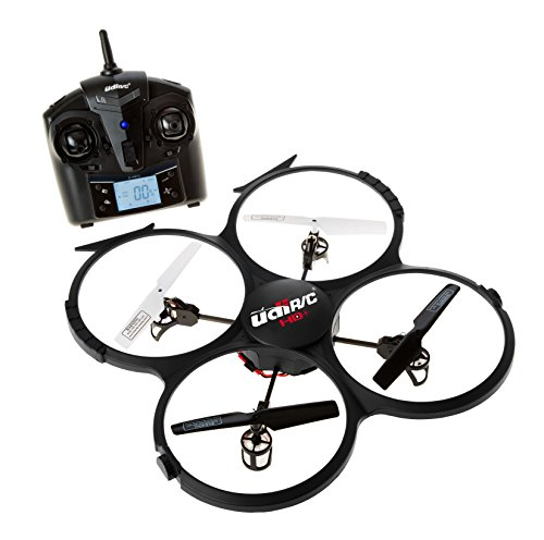 Latest-UDI-818A-HD-RC-Quadcopter-Drone-with-HD-Camera-Return-Home-Function-and-Headless-Mode-24GHz-4-CH-6-Axis-Gyro-RTF-Includes-BONUS-BATTERY-POWER-BANK-Quadruples-Flying-Time-USA-TOYZ-EXCLUSIVE-0-1