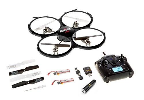 Latest-UDI-818A-HD-RC-Quadcopter-Drone-with-HD-Camera-Return-Home-Function-and-Headless-Mode-24GHz-4-CH-6-Axis-Gyro-RTF-Includes-BONUS-BATTERY-POWER-BANK-Quadruples-Flying-Time-USA-TOYZ-EXCLUSIVE-0-2