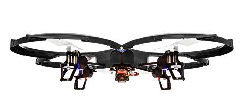 Latest-UDI-818A-HD-RC-Quadcopter-Drone-with-HD-Camera-Return-Home-Function-and-Headless-Mode-24GHz-4-CH-6-Axis-Gyro-RTF-Includes-BONUS-BATTERY-POWER-BANK-Quadruples-Flying-Time-USA-TOYZ-EXCLUSIVE-0-3