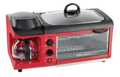 Nostalgia-Electrics-BSET300RETRORED-Retro-Series-3-in-1-Breakfast-Station-0
