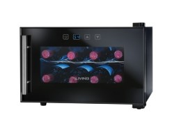 Nostalgia-Electrics-EWC008BLK-8-Bottle-Wine-Chiller-0