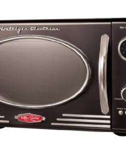 Nostalgia-Electrics-RMO400BLK-Retro-Series-09-Cubic-Foot-Microwave-Oven-Black-0