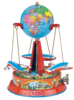 Wilesco-M71-Roundabout-with-Globe-for-Toy-Steam-Engines-0