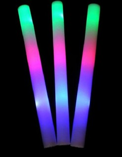 100-pack-of-18-Multi-Color-Foam-Baton-LED-Light-Sticks-Multicolor-Color-Changing-Rally-Foam-3-model-flashing-0