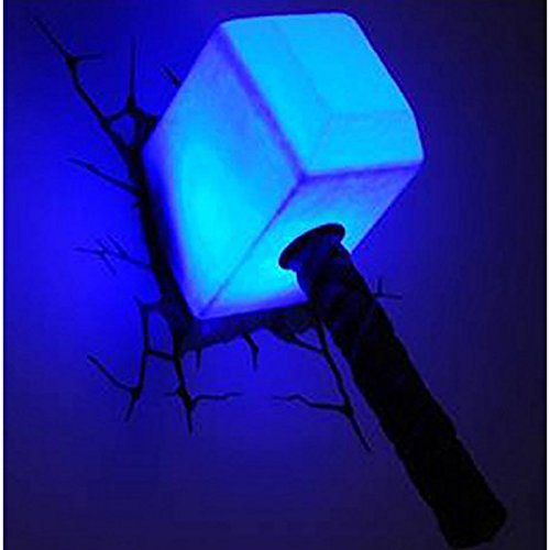 3d light fx marvel thor hammer 3d deco led wall light wowcoolstuff 3d wall art thor hammer nightlight 0 0 aloadofball Images