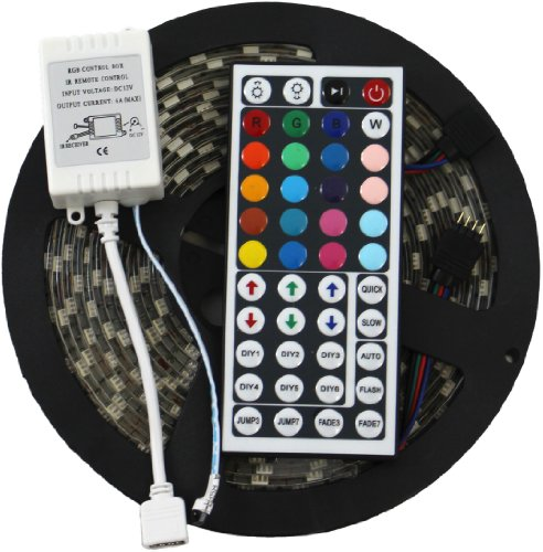 Adx 5050 rgb 300 led strip kit 16 4 feet smd 5050 Cool things to do with led strips