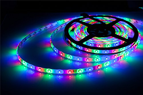 Aled light 164foot5meter smd 3528 300led waterproof flexible rgb aled light 164foot5meter smd 3528 300led waterproof flexible rgb color changing led strip light kit24 key ir remote receiver 12v 3a power supply aloadofball Gallery