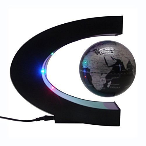 Asox funny c shape magnetic levitation floating globe world map led asox funny c shape magnetic levitation floating globe gumiabroncs Choice Image