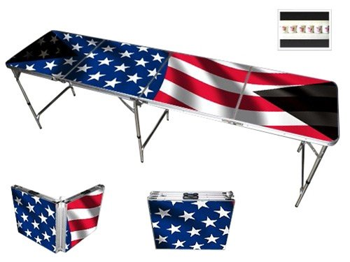 American-Flag-Beer-Pong-Table-8-Feet-Premium-HD-Design-0