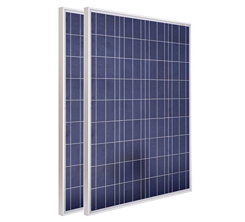 ECO-WORTHY-USA-STOCK-2pcs-100W-12V-Polycrystalline-Photovoltaic-PV-Solar-Panel-Module-RV-Boat-0