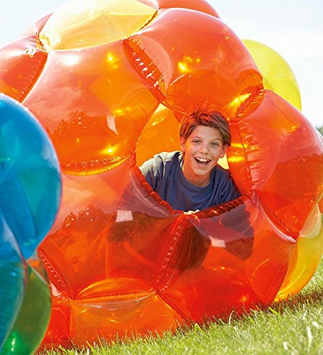 GBOP-Great-Big-Outdoor-Playball-Incred-a-BallTM-Inflatable-Orange-and-Yellow-65-diam-0-0