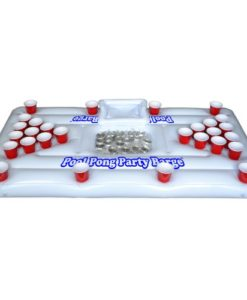GoPong-Pool-Party-Barge-Floating-Beer-Pong-Table-with-Cooler-White-6-Feet-0