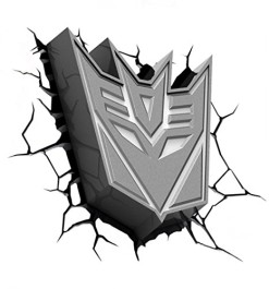 Hasbro-Transformers-3d-Deco-Light-FX-Deception-Shield-Led-Wall-Nightlight-0