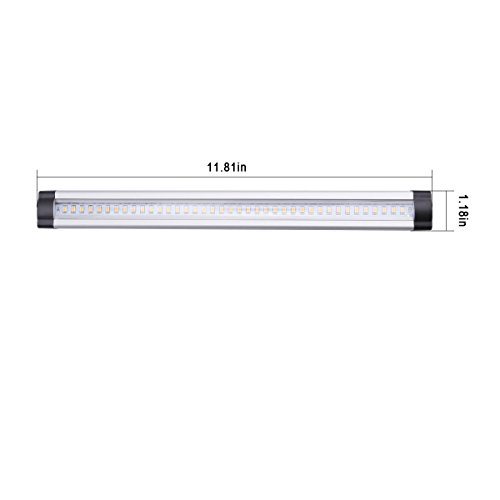 Le under cabinet led lighting 3 panel kit total of 12w 900lm le under cabinet led lighting 3 panel kit total of 12w 900lm 12v warm white 24w fluorescent tube equivalent all accessories included closet light aloadofball Image collections