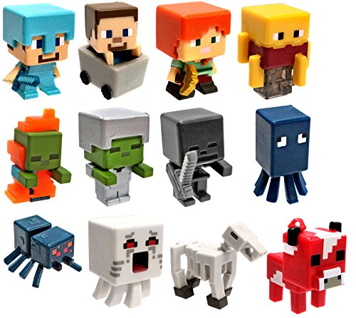 Minecraft-Netherrack-Series-3-Set-of-All-12-1-Mini-Figures-0