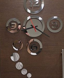 Peel-N-Stick-Functioning-Mirror-Wall-Clock-Decal-0