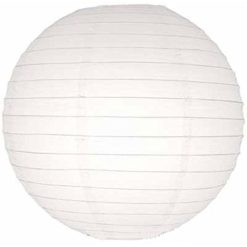 Perfectmaze-1-Piece-Set-24inch-White-Round-Paper-Lantern-for-Weddings-Celebrations-and-Events-0