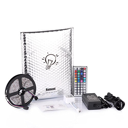 Led strips lighting rxment 5m 164 ft 5050 rgb 300leds flexible led strips lighting rxment 5m 164 ft 5050 rgb 300leds flexible color changing full kit with 44 keys remote controller control box 12v 5a power supply aloadofball Image collections