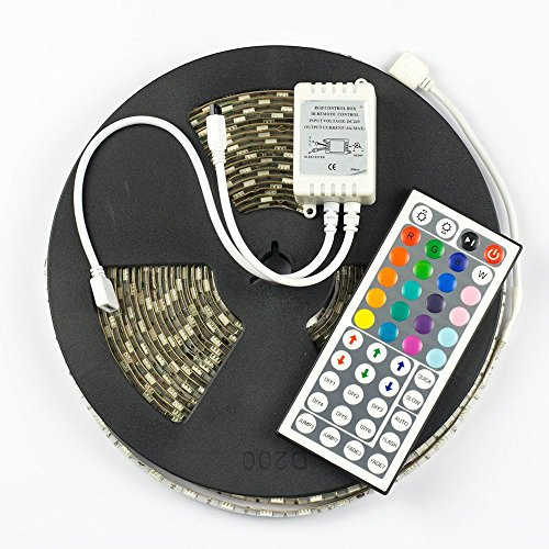Supernight dc24v 10m 5050 flexible rgb led strip light kit Cool things to do with led strips