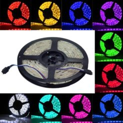 SUPERNIGHT-TM-164FT-5M-SMD-5050-Waterproof-300LEDs-RGB-Color-Changing-Flexible-LED-Strip-Light-0