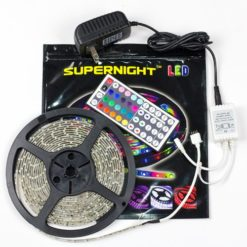 SUPERNIGHT-TM-5M164-Ft-SMD-3528-RGB-300-LED-Color-Changing-Kit-with-Flexible-Strip-Light-44-Key-IR-Remote-Control-Power-Supply-0