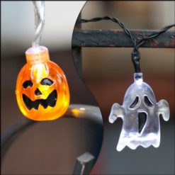 Set-of-2-Halloween-Themed-Battery-Operated-String-Lights-with-10-LEDs-Ghost-and-Pumpkin-0
