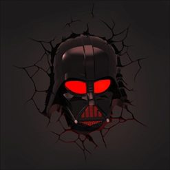 Star-Wars-Darth-Vader-3D-Wall-Light-With-Remote-Control-Star-Wars-Movie-0