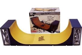 Tech-Deck-Half-Pipe-SK8-Parks-with-Exclusive-Flip-96mm-Skateboard-Over-2-Feet-Long-0