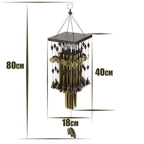 Ylyycc-Brassiness-Wind-Chime-24-Tube-Metal-Windbell-Money-Drawing-Wind-Chime-0-2
