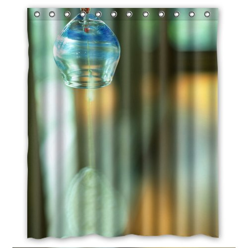 best-gift-The-angel-of-the-wind-chime-Shower-Curtain-60x72-inch-nifty-0