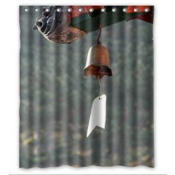 luxry-The-angel-of-the-wind-chime-Shower-Curtain-60x72-inch-The-portable-0