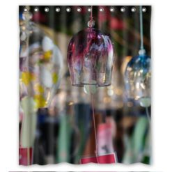 new-promotion-The-angel-of-the-wind-chime-Shower-Curtain-60x72-inch-nifty-0