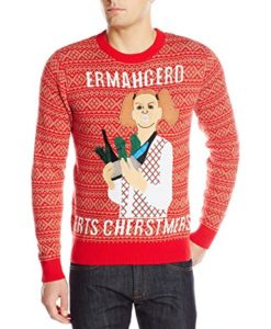 Alex-Stevens-Mens-Ermahgerd-Ugly-Christmas-Sweater-0