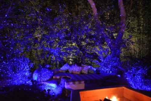 Blisslights spright smart outdoor indoor firefly light projector blisslights spright smart outdoor indoor firefly light projector with timer blue aloadofball Image collections