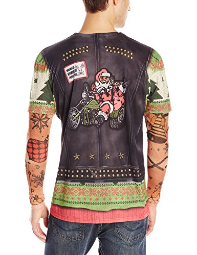 Faux-Real-Mens-Biker-Ugly-X-Mas-Sweater-with-Tattoos-T-Shirt-and-Long-Sleeves-0-0
