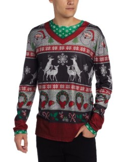 Faux-Real-Mens-Ugly-Frisky-Deer-Sweater-Long-Sleeve-Shirt-0