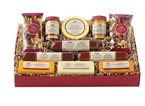 Hickory-Farms-Signature-Party-Gift-Box-Holiday-Summer-Sausage-Cheese-Nuts-App-0