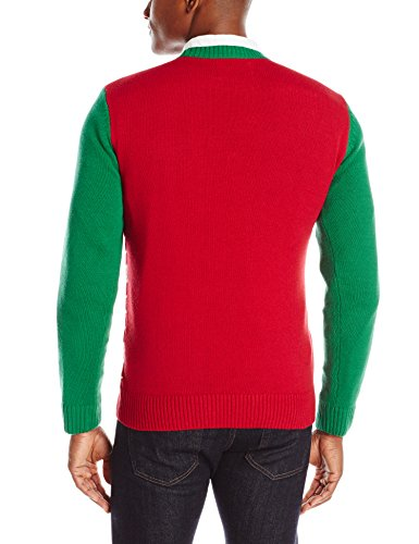 the ugly christmas sweater kit mens fireplace is