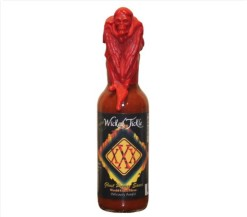 Ghost-Pepper-Hot-Sauce-Wicked-Tickle-XXX-Wax-Sealed-with-Skull-and-Wings-Extra-Hot-Among-the-Worlds-Hottest-Hot-Sauce-Gift-0