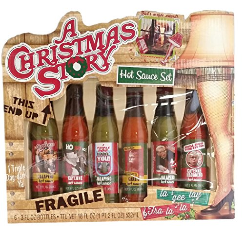 Gift Set – A Christmas Story Hot Sauce Set – WowCoolStuff.com