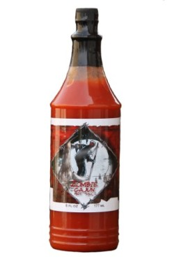 Zombie-Cajun-Hot-Sauces-Not-Just-A-Novelty-Gift-For-A-Zombie-Apocalypse-Survival-Kit-Best-6-or-10oz-Bottles-Of-Louisiana-Spiced-Aged-Pepper-Sauce-For-Injector-Recipes-Grilling-Marinades-and-Seasoning--0