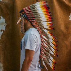Choose-Color-Indian-Headdress-Native-American-Headdress-Real-Feathers-0