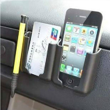 Hooshion-Multi-Function-Car-holder-Stand-Carried-Pocket-Gadget-Bag-for-Iphone-Mobile-GPS-Pad-0