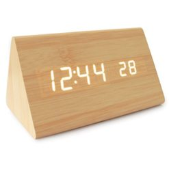 JCC-Wooden-Series-Modern-Mini-Triangle-Wood-Grain-Thermometer-Touch-Sound-Activated-Desk-LED-Digital-Alarm-Clock-Powered-by-Battery-USB-DC-0