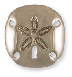 Michael-Healy-Designs-MH1213-Sand-Dollar-Door-Knocker-Nickel-Silver-0