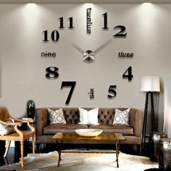 TODDCAHALAN-Home-DIY-Decorative-Wall-Stickers-Removable-XXL-large-mirrors-wall-clock-Gift-living-room-16-0