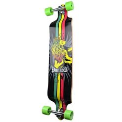 Yocaher-Professional-Speed-Drop-Down-Stained-Complete-Longboard-0