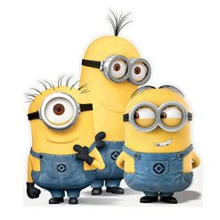 36-Life-Size-Despicable-Me-Minions-Cut-Out-Decoration-Group-0