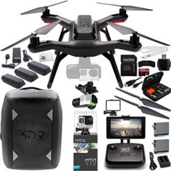 3DR-Solo-Quadcopter-with-3-Axis-Gimbal-for-GoPro-HERO3-HERO4-with-Manufacturer-Accessories-2-Extra-3DR-Flight-Batteries-3DR-Propeller-Set-3DR-Solo-Backpack-GoPro-HERO4-Black-MORE-0