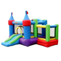 Bounceland-Inflatable-Dream-Castle-with-Ball-Pit-Bounce-House-Bouncer-0